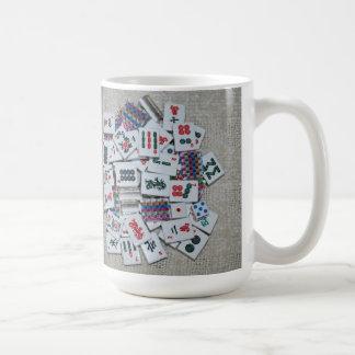 ribbon tile mug-plain coffee mug