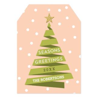 Ribbon Tree Holiday Card
