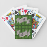 Ribbon & Weave - Green Deck Of Cards