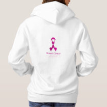 Ribbon with faces of 2 women-Empowering women Hoodie