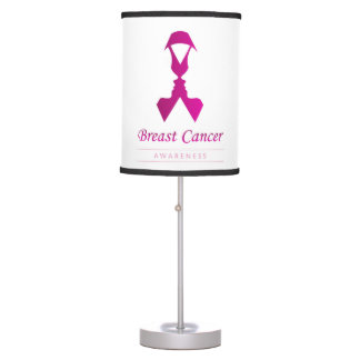 Ribbon with faces of 2 women-Empowering women Table Lamp