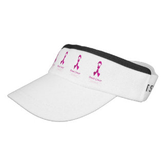 Ribbon with faces of 2 women-Empowering women Visor