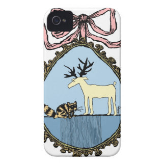 Ribboned Portrait iPhone case iPhone 4 Covers