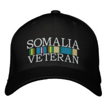 ribbons2-1-1.jpg, SOMALIA, VETERAN Embroidered Baseball Cap