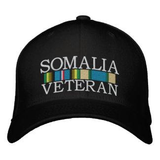 ribbons2-1-1.jpg, SOMALIA, VETERAN Embroidered Baseball Cap