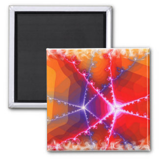 Ribbons 2 Inch Square Magnet