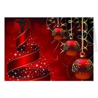"""Ribbons and lights"" Greeting Card"