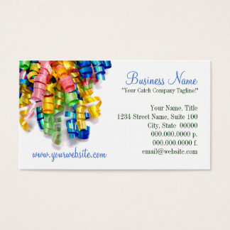 Ribbons Business Cards