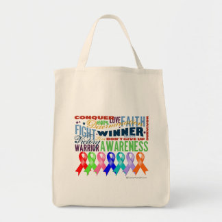 Ribbons For a Cause Tote Bags