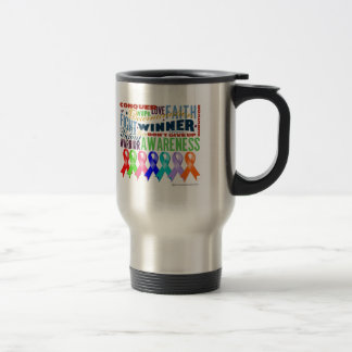 Ribbons For a Cause Coffee Mugs