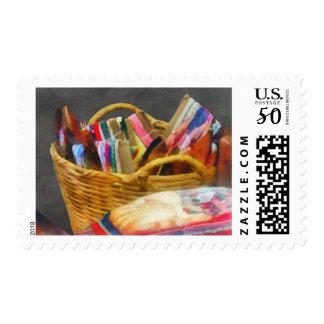 Ribbons in Basket Postage