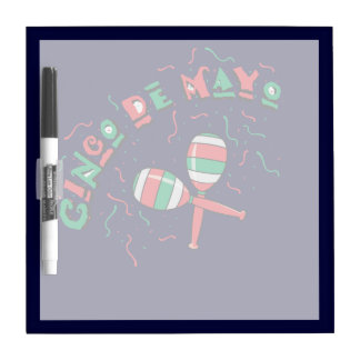 Ribbons & Maracas - Dry Erase Board