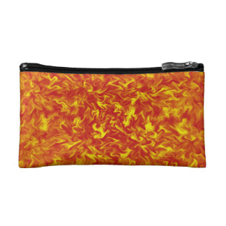 Ribbons of Fire Cosmetic Bag