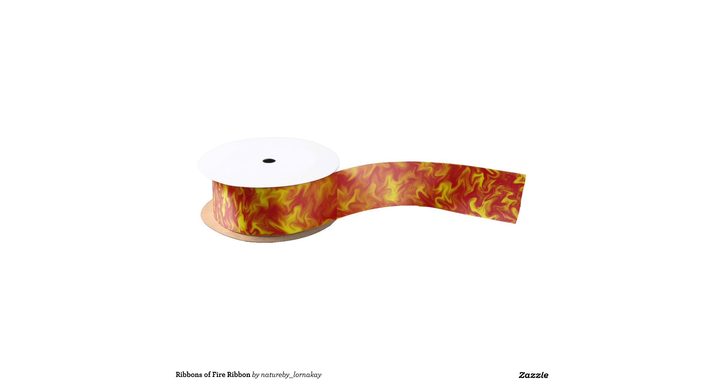 Ribbons Of Fire Ribbon Blank Ribbon