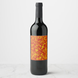 Ribbons of Fire Wine Label