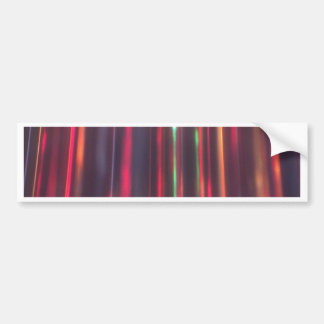 Ribbons of Light Bumper Sticker