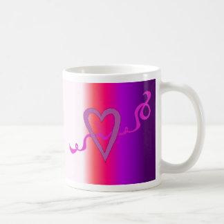 Ribbons of Love Coffee Mug