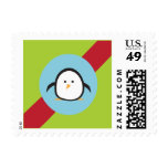 Ribbons & Ornaments Holiday Postage (green)