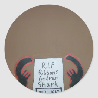 Ribbons = The Magnificent Oboro Round Stickers