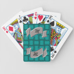 Ribbons & Weave - Teal Card Deck