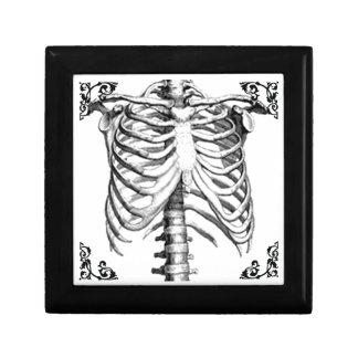 Ribcage Skeleton Gothic Punk Jewelry Box