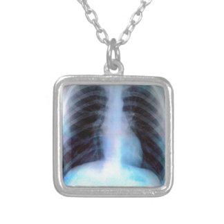 Ribcage Xray Skeleton Necklaces