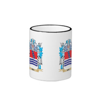 Ribe Coat of Arms - Family Crest Ringer Coffee Mug