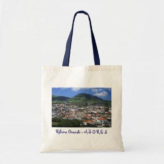 Ribeira Grande Azores Canvas Bag