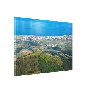 Ribeira Grande Azores Canvas Print