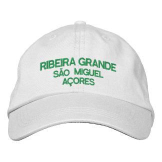 Ribeira Grande Azores Embriodered hat