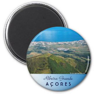 Ribeira Grande Azores 2 Inch Round Magnet