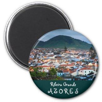 Ribeira Grande - Azores 2 Inch Round Magnet