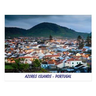 Ribeira Grande - Azores Postcard