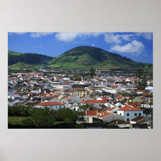 Ribeira Grande, Azores Poster