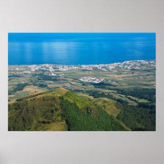 Ribeira Grande Azores Poster
