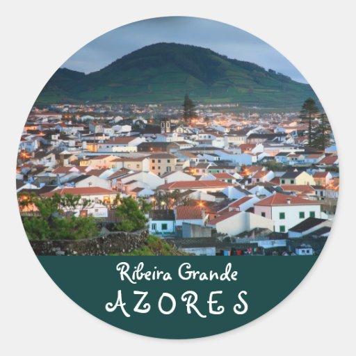 Ribeira Grande - Azores Sticker