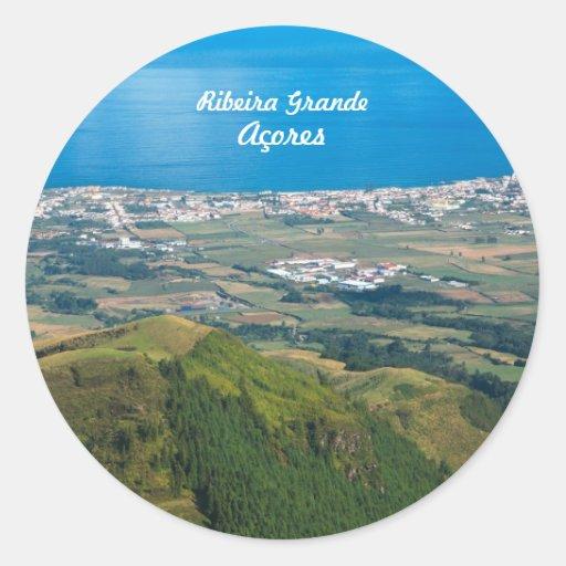 Ribeira Grande Azores Stickers