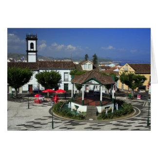 Ribeira grande - Azores Tarjeta De Felicitación