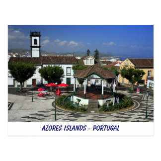 Ribeira grande - Azores Tarjeta Postal