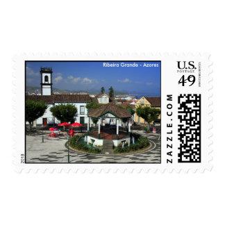 Ribeira grande - Azores Timbre Postal