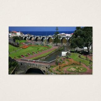Ribeira Grande gardens Business Card