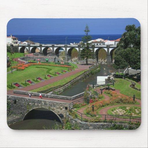 Ribeira Grande gardens Mouse Pad
