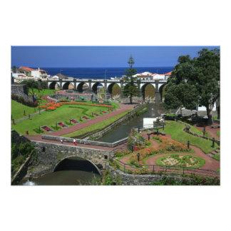 Ribeira Grande gardens Photo Print