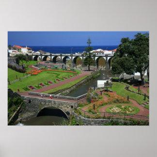 Ribeira Grande gardens Poster