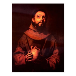 Ribera, Jos? de Hl. Franz von Assisi 1643 Techniqu Postcard