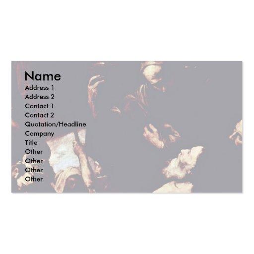 Ribera José De Business Cards