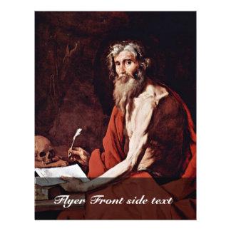 Ribera José De Personalized Flyer