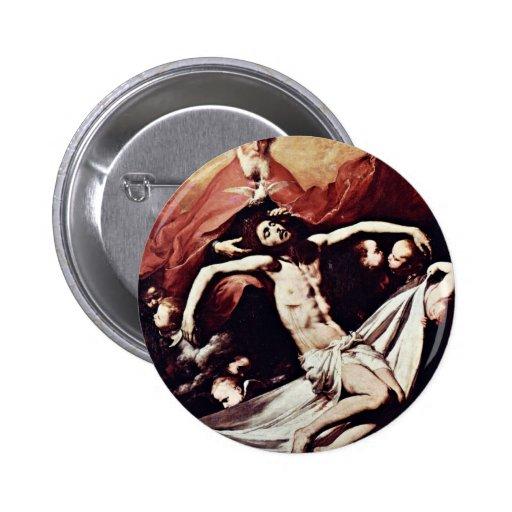 Ribera José De Pinback Button