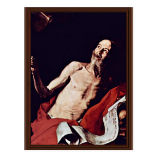 Ribera José De Postcard