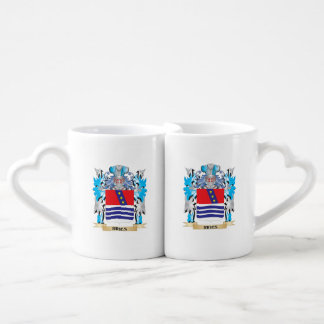 Ribes Coat of Arms - Family Crest Couples' Coffee Mug Set